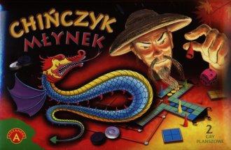 Chińczyk / Młynek (2 gry planszowe) - zdjęcie zabawki, gry