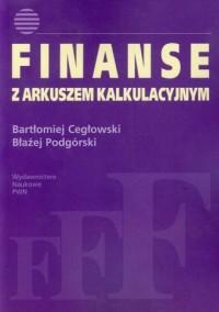 Finanse z arkuszem kalkulacyjnym - okładka książki