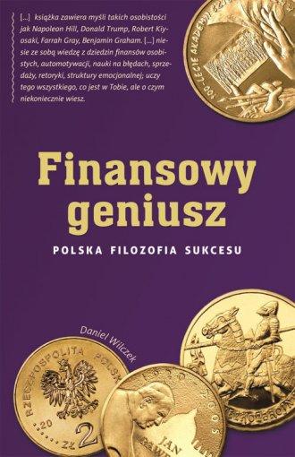 Finansowy geniusz Polska filozofia - okładka książki