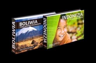 Indonezja / Boliwia - okładka książki