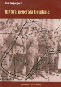 Klątwa generała Denikina - okładka książki