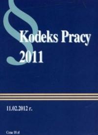 Kodeks pracy 2011 - okładka książki