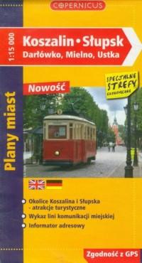 Koszalin. Słupsk (plany miast) - okładka książki
