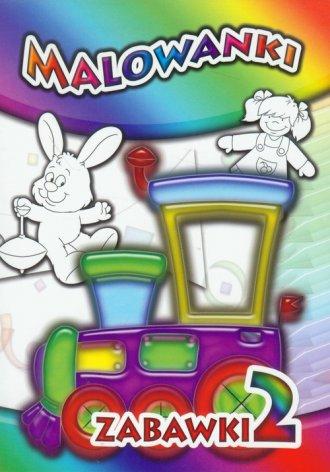 Malowanki Zabawki 2 - okładka książki