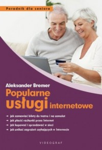 Popularne usługi internetowe - okładka książki