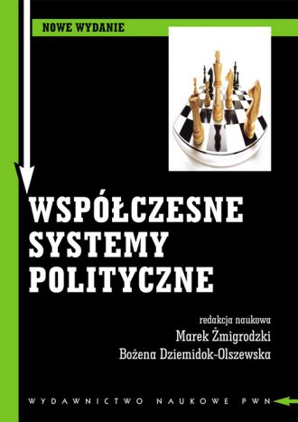 Współczesne systemy polityczne - okładka książki