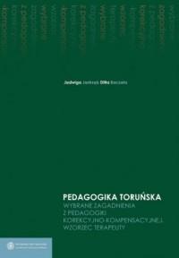 Wybrane zagadnienia z pedagogiki korekcyjno-kompensacyjnej Wzorzec terapeuty - okładka książki