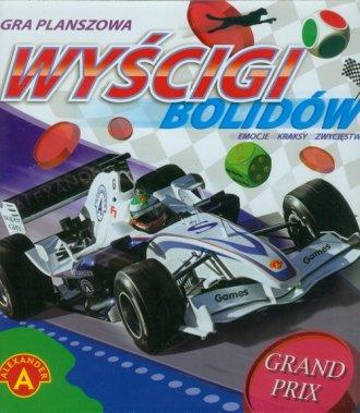 Wyścigi F1. Gra planszowa - zdjęcie zabawki, gry