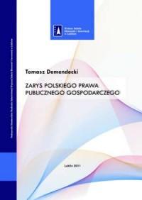 Zarys polskiego prawa publicznego - okładka książki