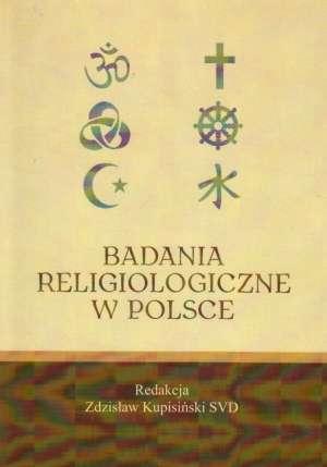 Badania religiologiczne w Polsce - okładka książki