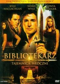 Bibliotekarz. Tajemnica włóczni (DVD) - okładka filmu