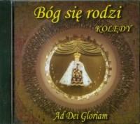 Bóg się rodzi. Kolędy (CD) - Wydawnictwo - okładka płyty