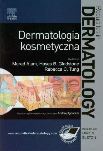 Dermatologia kosmetyczna - okładka książki