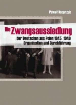 Die Zwangsaussiedlung der Deutschen - okładka książki