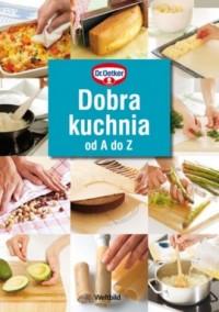Dobra kuchnia od A do Z - okładka książki