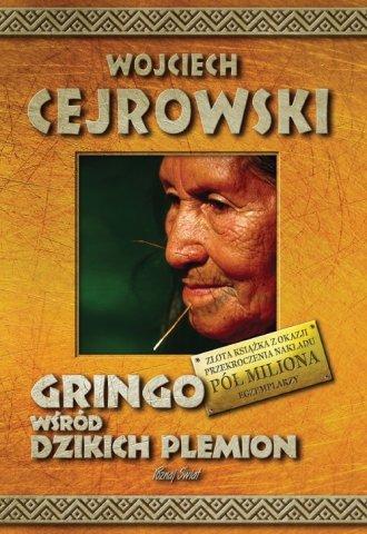 Gringo wśród dzikich plemion - okładka książki