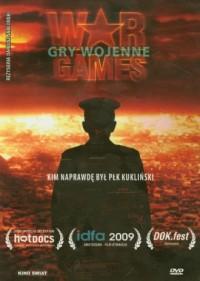 Gry wojenne (DVD) - Dariusz Jabłoński - okładka filmu