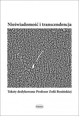 Nieświadomość i transcendencja - okładka książki