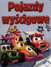 Pojazdy wyścigowe - okładka książki