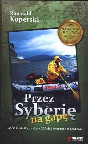 Przez Syberię na gapę - okładka książki
