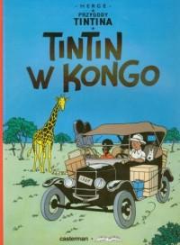 Przygody Tintina 1. Tintin w Kongo - okładka książki