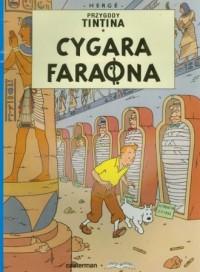 Przygody Tintina 3. Cygara Faraona - okładka książki