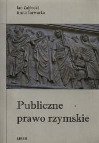 Publiczne prawo rzymskie - okładka książki