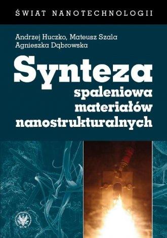 Synteza spaleniowa materiałów nanostrukturalnych - okładka książki