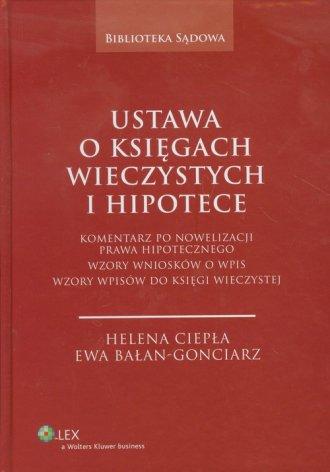 Ustawa o księgach wieczystych i - okładka książki