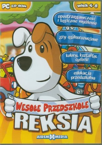 Wesołe przedszkole Reksia - pudełko programu