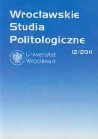 Wrocławskie Studia Politologiczne 12/2011 - okładka książki