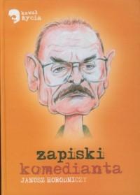 Zapiski komedianta - okładka książki