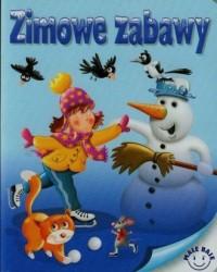 Zimowe zabawy - okładka książki