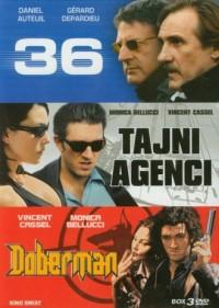 36 / Tajni agenci / Doberman. Kolekcja filmów (DVD) - okładka filmu
