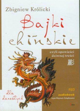Bajki chińskie dla dorosłych (CD) - pudełko audiobooku