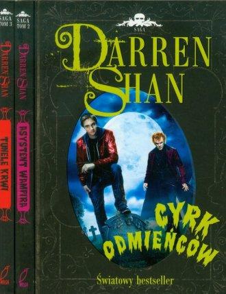 Darren Shan. Tom 1-3. KOMPLET - okładka książki
