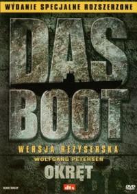 Das Boot-Okręt (DVD) - okładka filmu