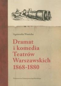 Dramat i komedia Teatrów Warszawskich - okładka książki