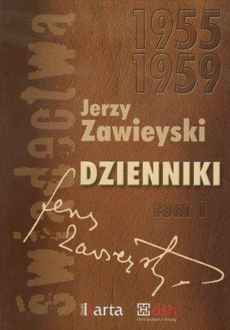 Dzienniki 1955-1959. Tom 1 - okładka książki