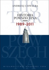 Historia powszechna 1989-2011 - okładka książki