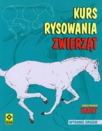 Kurs rysowania zwierząt - okładka książki