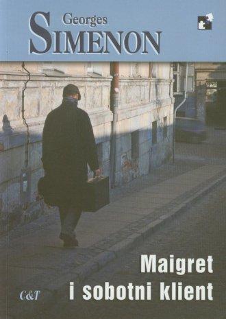 Maigret i sobotni klient - okładka książki