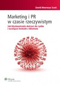 Marketing i PR w czasie rzeczywistym - okładka książki