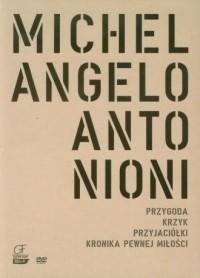 Michelangelo Antonion. Kolekcja 4 filmów (DVD) - okładka filmu