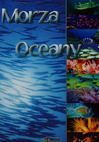 Morza i oceany - okładka książki
