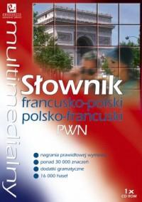 Multimedialny słownik francusko-polski, polsko-francuski PWN (CD) - pudełko audiobooku