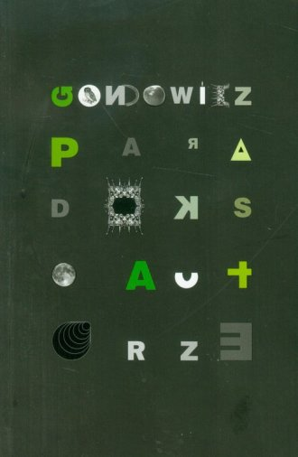Paradoks o autorze - okładka książki