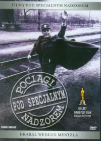 Pociągi pod specjalnym nadzorem (DVD) - okładka filmu