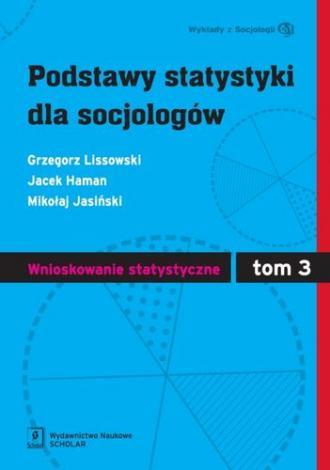 Podstawy statystyki dla socjologów. - okładka książki
