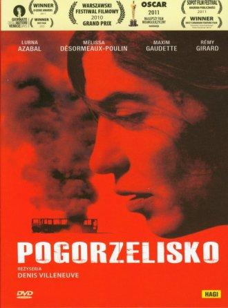 Pogorzelisko (DVD) - okładka filmu
